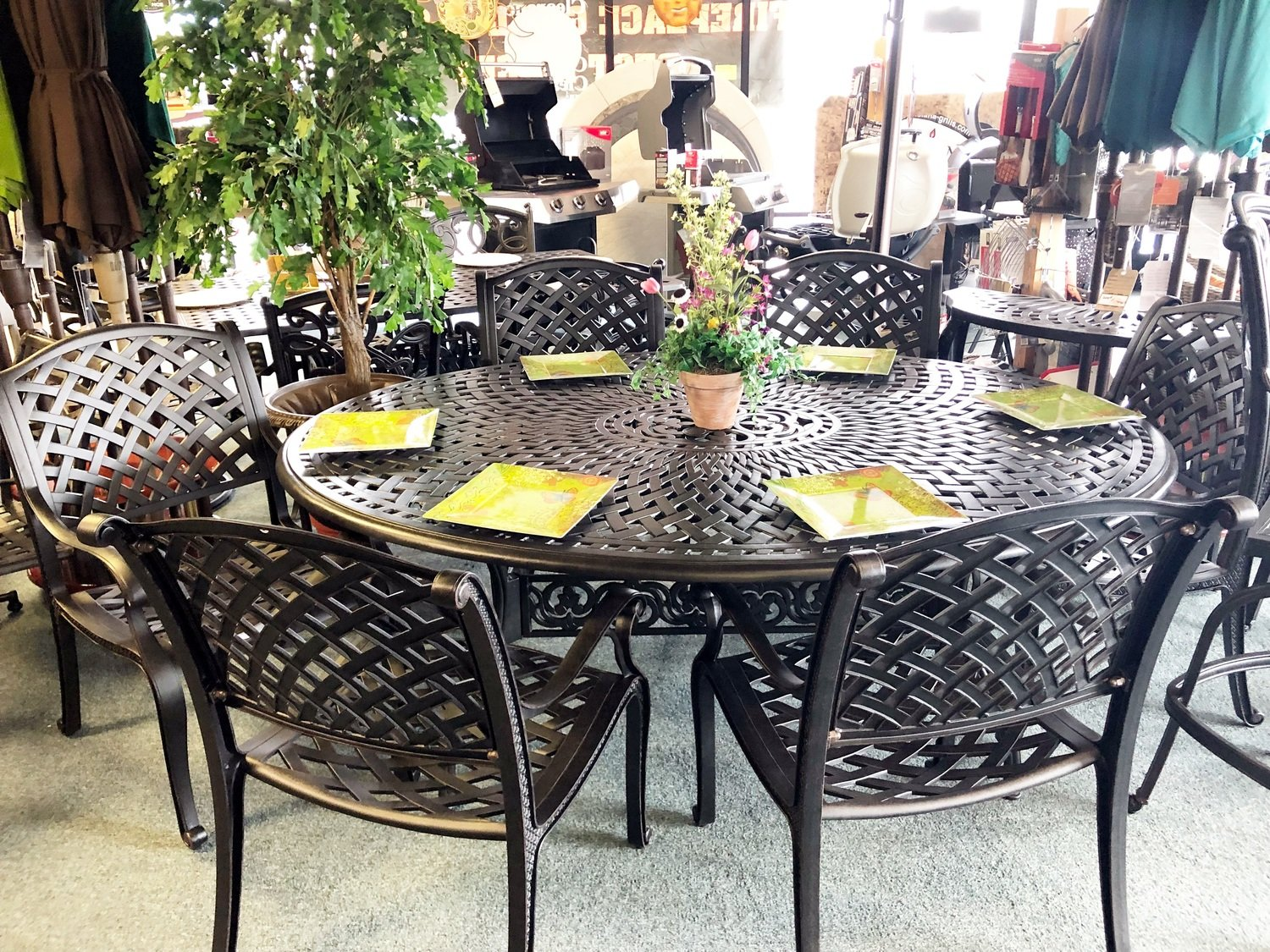Nassau 7 Piece Dining Set