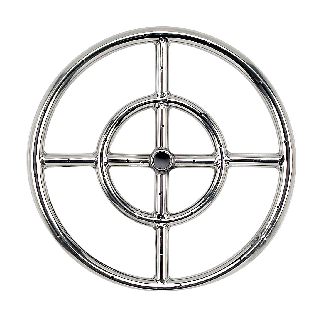 American Fireglass Fire Pit Rings (Multiple Sizes)