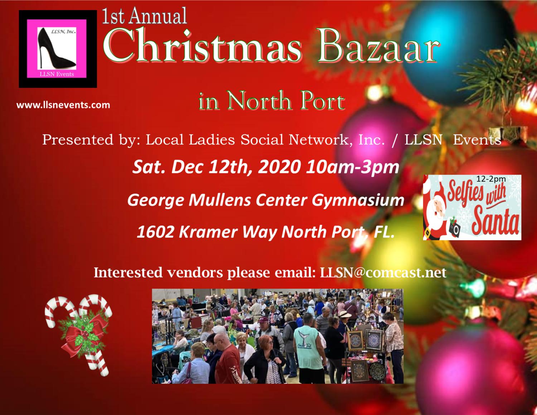 Christmas Bazaar- North Port- December 12th 2020 (INSIDE Event)
