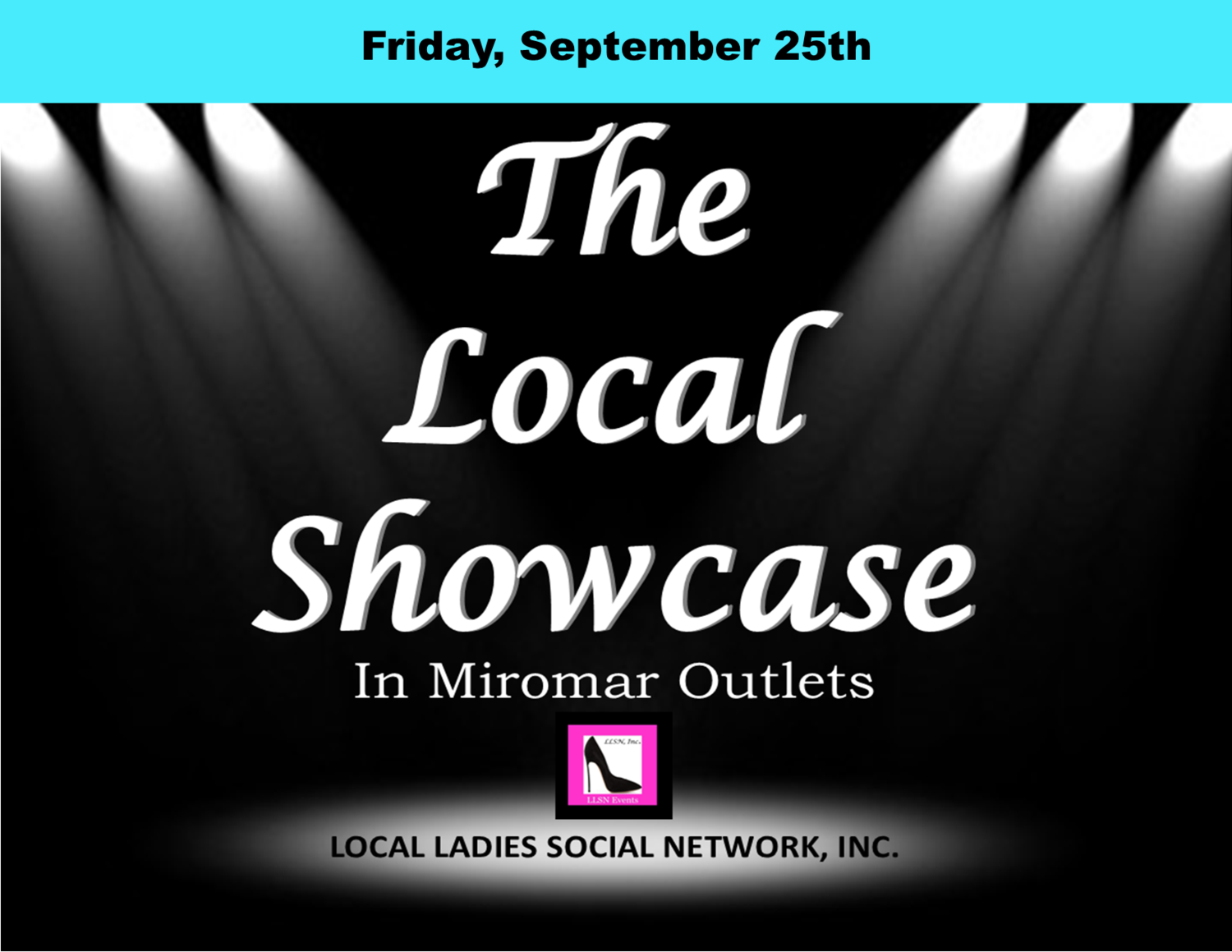 Friday, September 25th, 11am-7pm.