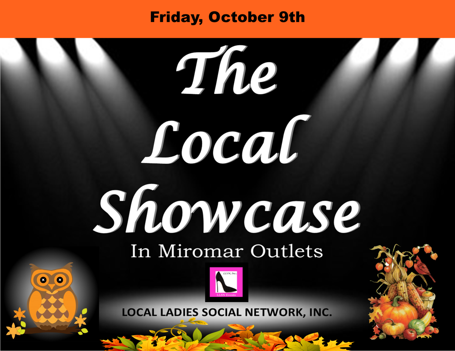 Friday, October 9th 11am-7pm