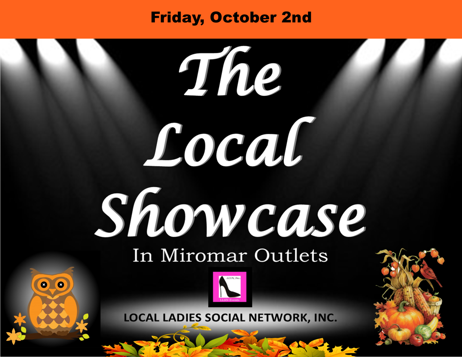 Friday, October 2nd 11am-7pm