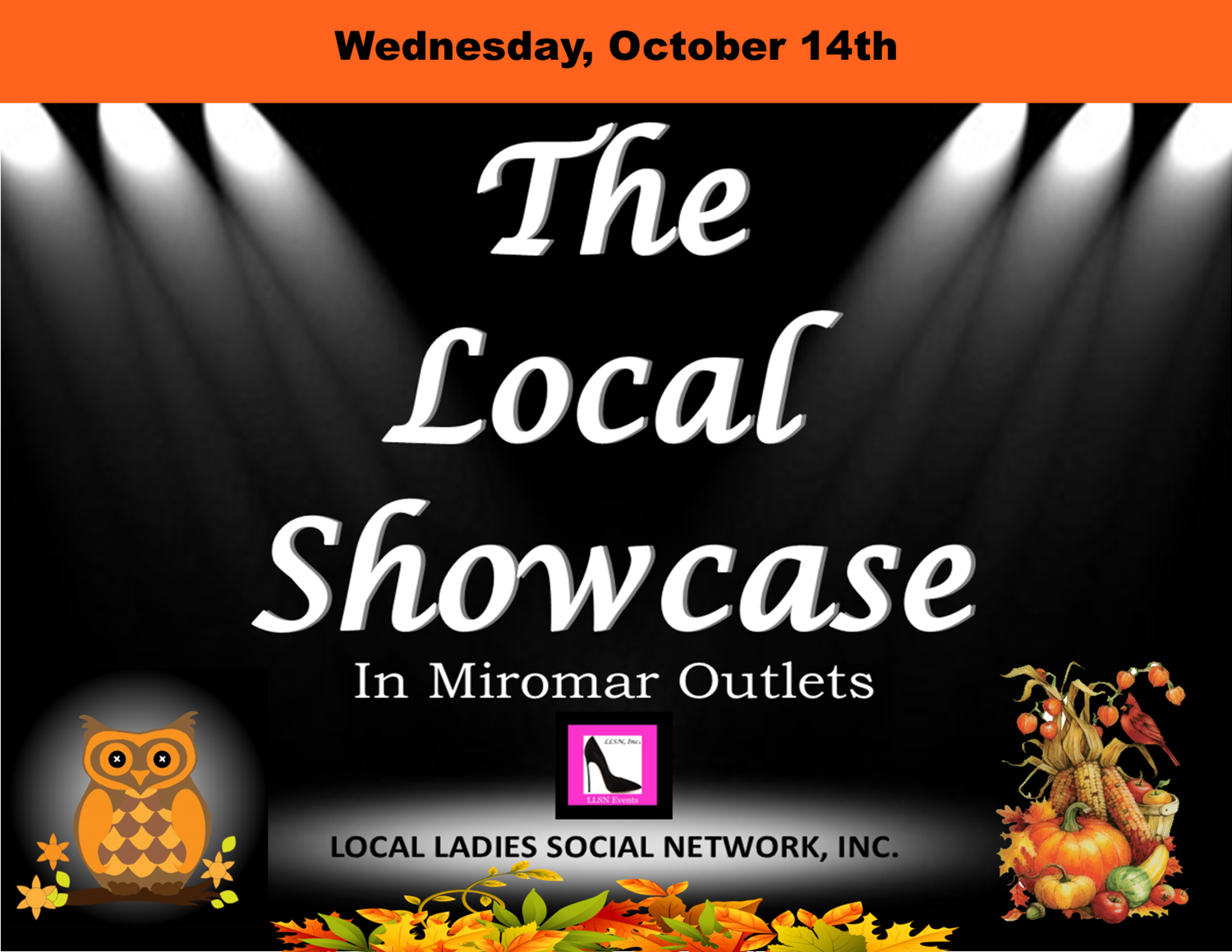 Wednesday, October 14th 11am-7pm