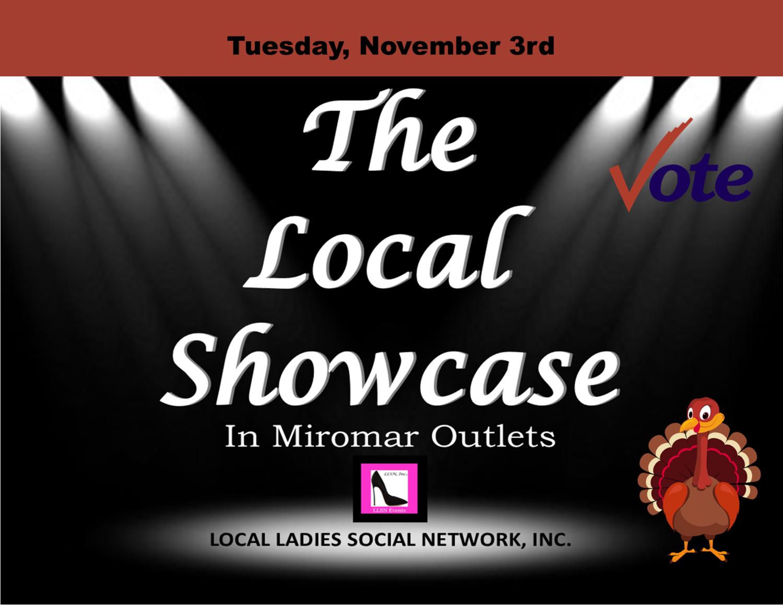 Tuesday, November 3rd, 11am-7pm.