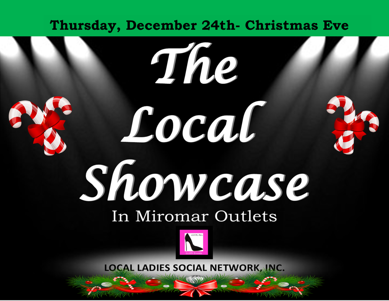 Thursday, December 24th 11am-7pm.
