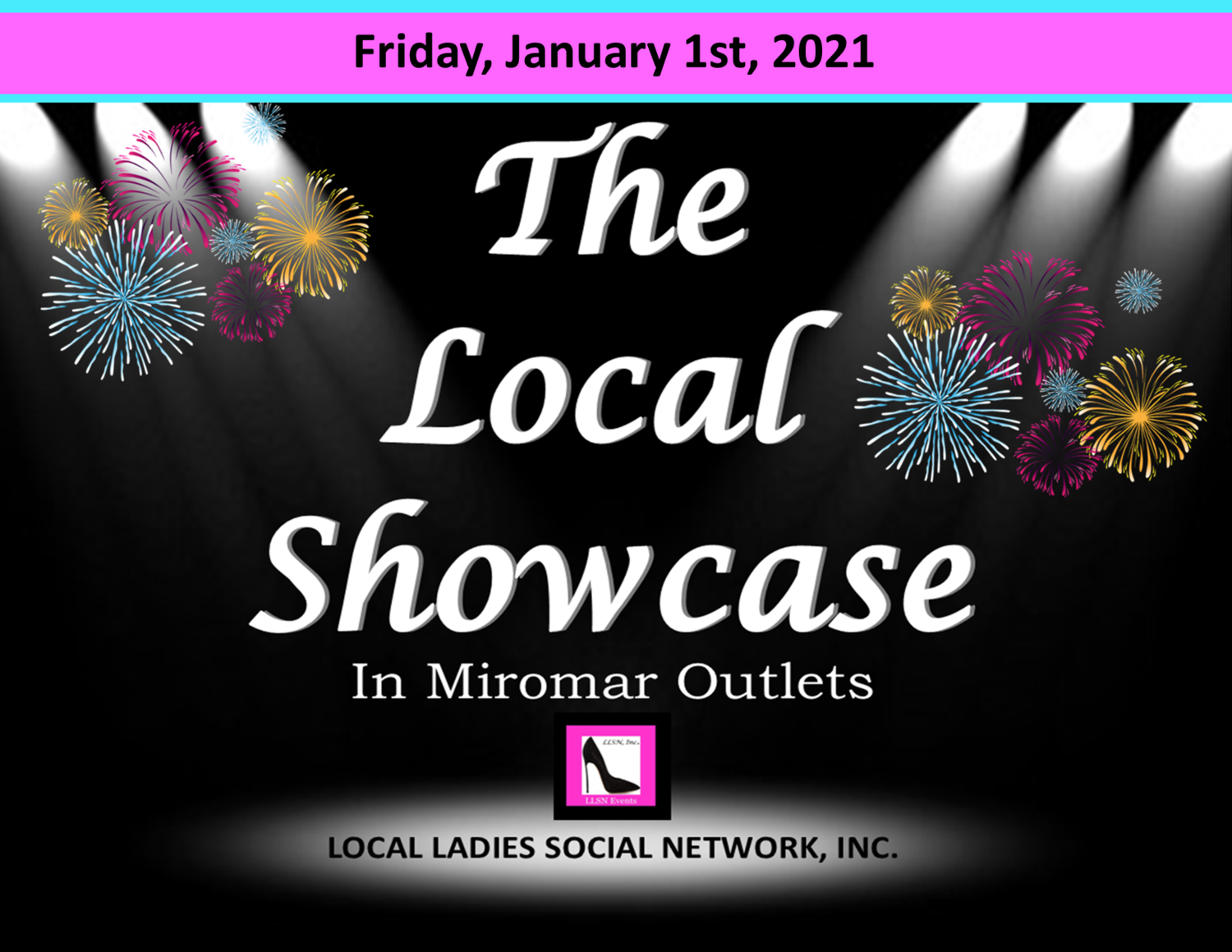 Friday, January 1st, 2021 11am-7pm