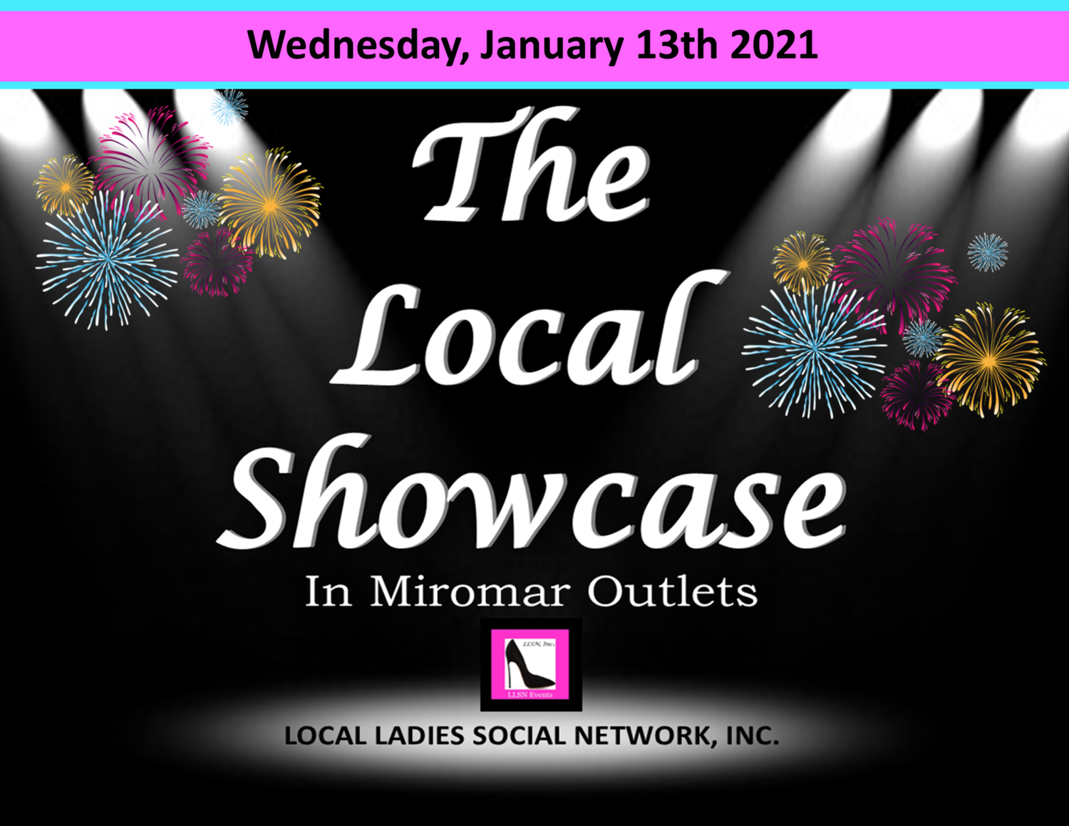 Wednesday, January 13th 11am-7pm