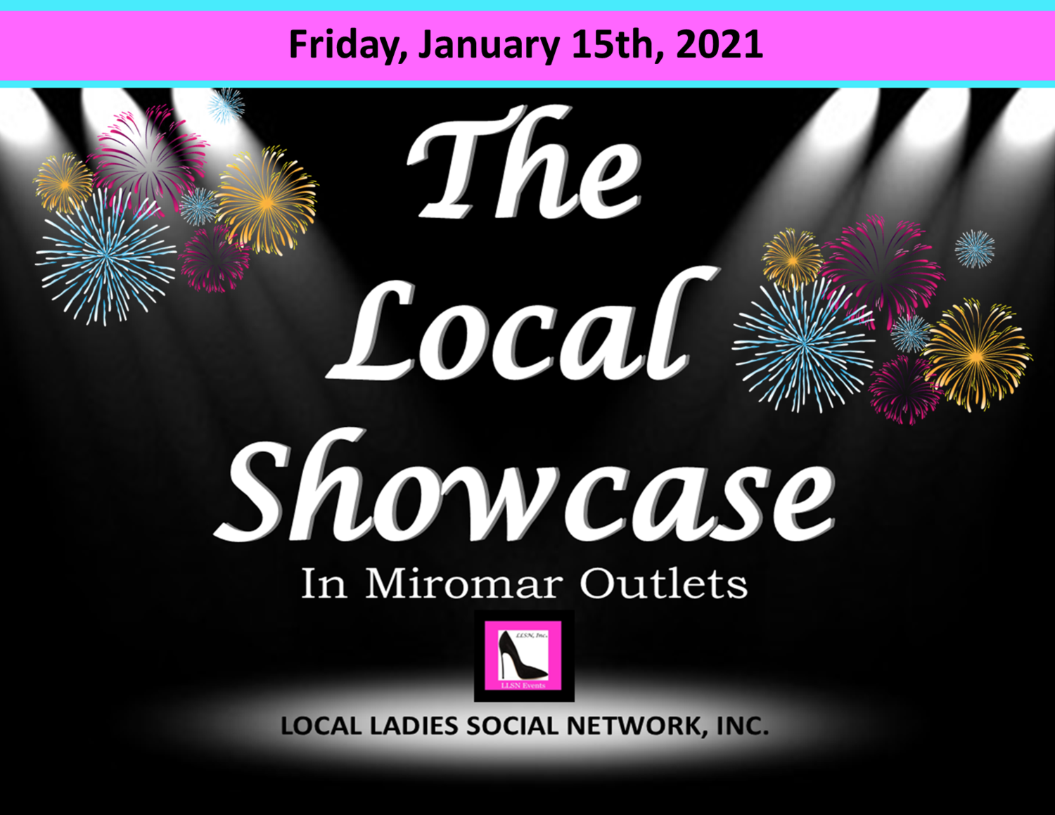 Friday, January 15th, 2021 11am-7pm