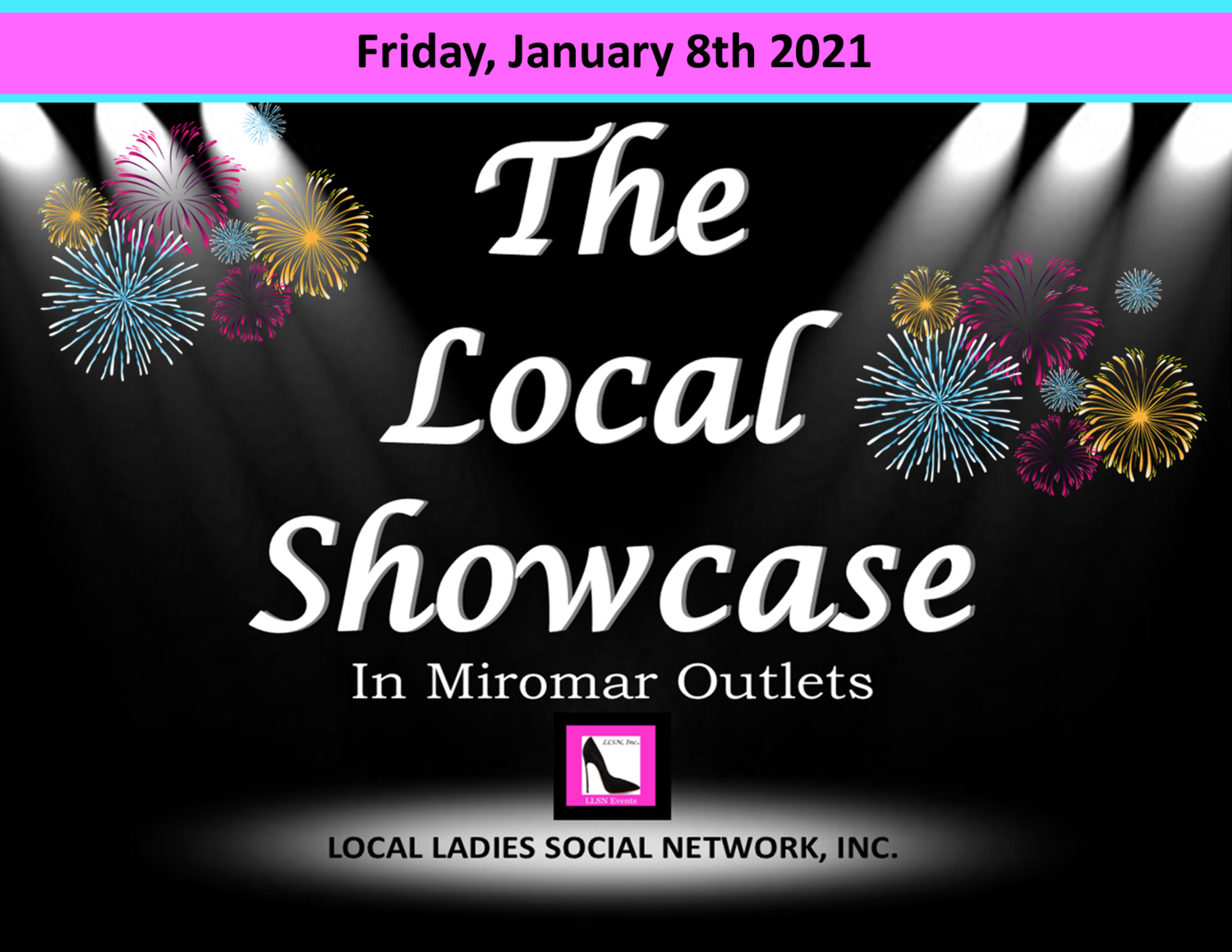 Friday, January 8th, 2021 11am-7pm
