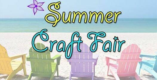 Indoor Summer Craft Fair-Saturday June 19th 2021