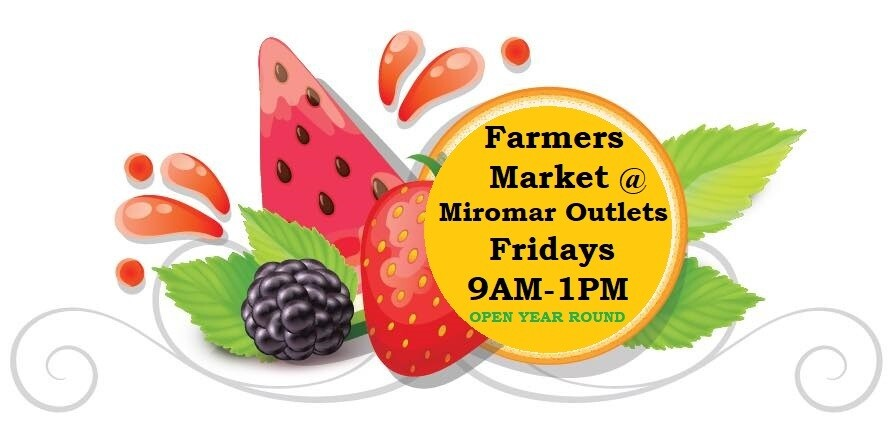 Month of May (4 Weeks) Only Approved Vendors Can Use This Payment Method For The Farmers Market at Miromar Outlets.