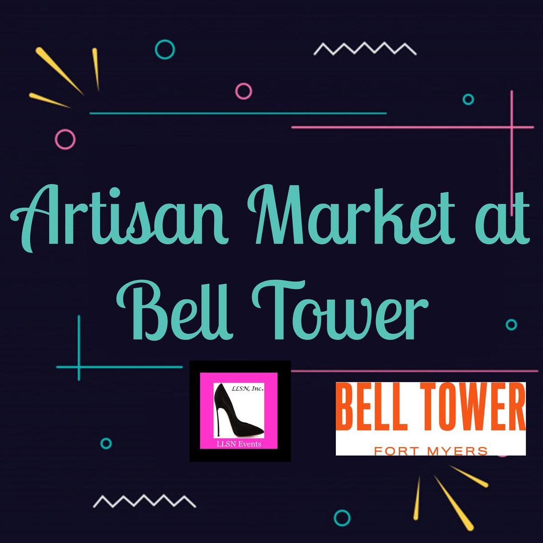 Artisan Market at Bell Tower - Saturday May 22nd
