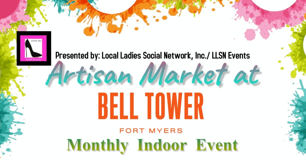 Artisan Market at Bell Tower - Saturday August 14th