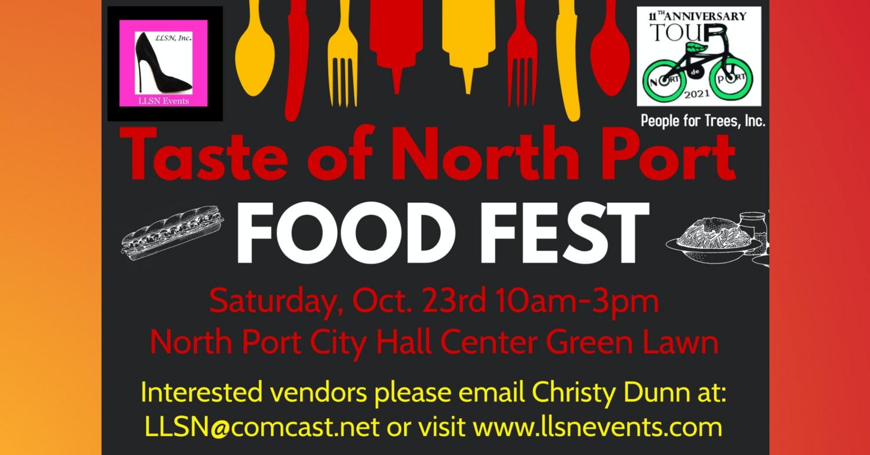 Taste of North Port Food Fest & More- Oct 23rd