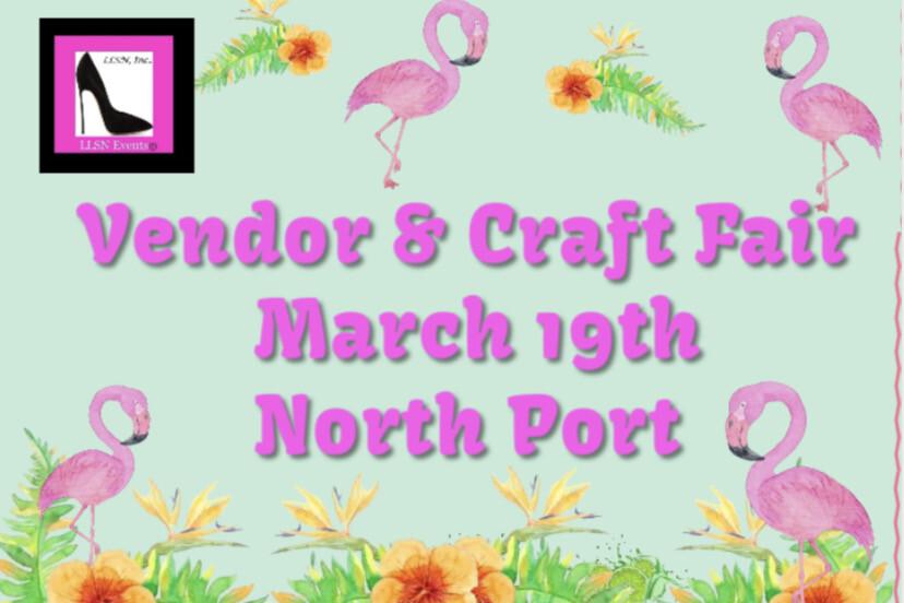 Vendor & Craft Fair- Indoors in North Port, March 19th
