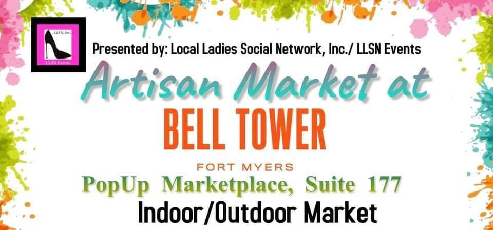 INSIDE SPACE Artisan Market at Bell Tower - Saturday, March 5th