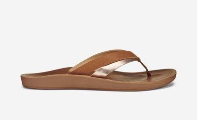 Olukai Kaekae Leather Women's Sandals