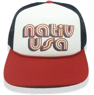 Nativ USA Foam Hat