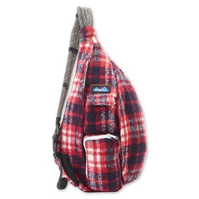 Kavu Plaid Rope Bag Americana