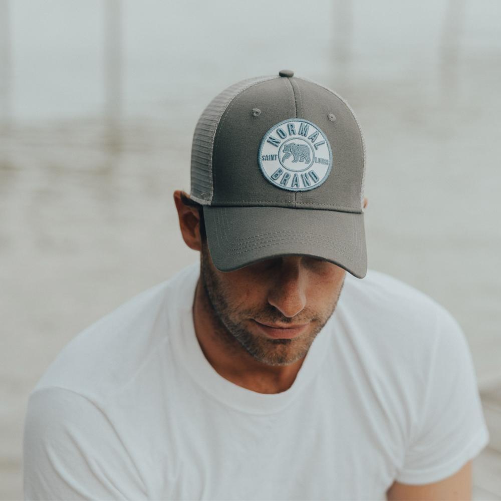 The Normal Brand University Bear Cap - Grey