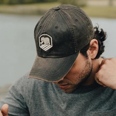 The Normal Brand Waxed Activewear Hat-Brown