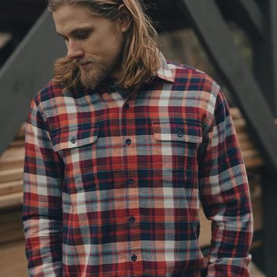 The Normal Brand Men's Seffa Flannel Button Up