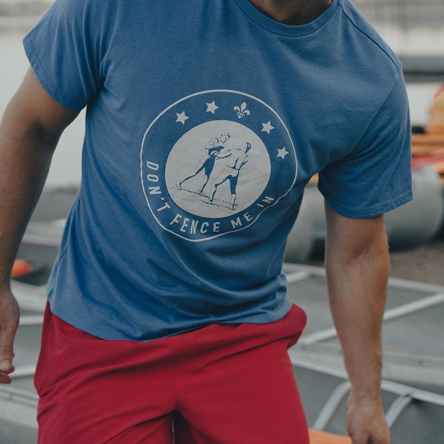 The Normal Brand Men's Boxing Tee- Pacific Coast