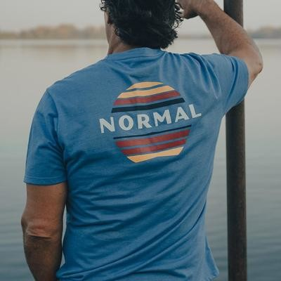 The Normal Brand Men's Sunset Tee- Pacific Coast