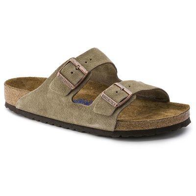 Birkenstock Arizona Soft Footbed- Taupe (Regular Width)