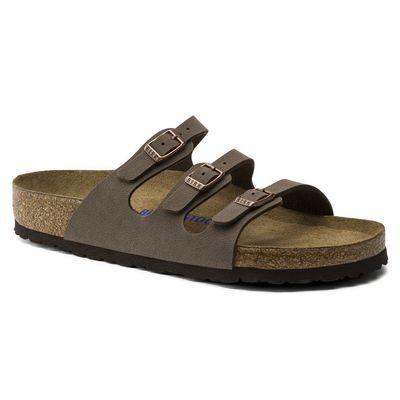 Birkenstock Florida Soft Footbed- Mocha (Regular Width)