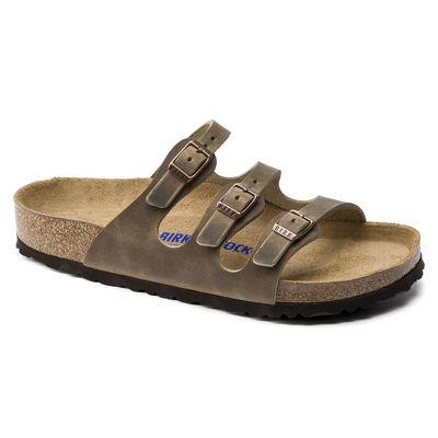 Birkenstock Florida Soft Footbed- Tobacco Brown (Regular Width)