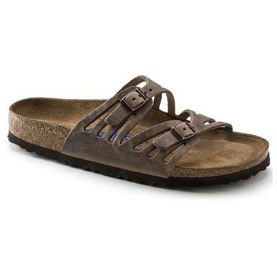 Birkenstock Granada Soft Footbed- Tobacco Brown (Regular Width)