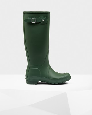 Hunter Women's Original Tall Matte Boot- Hunter Green