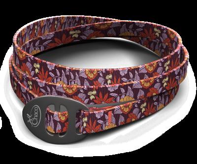 Chaco Wrist Wrap- Woodstock Blossom Wine