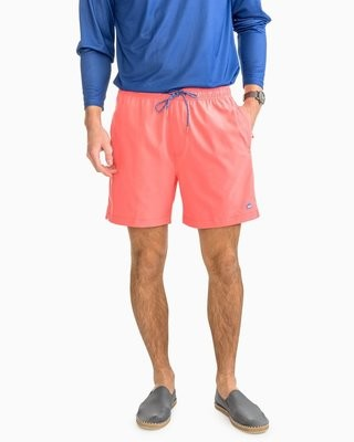 Southern Tide Men's Solid Swim Trunk