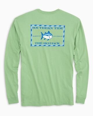 Southern Tide Men's Long Sleeve Original Skipjack Tee