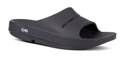 Oofos OOahh Slide Sandal- Black