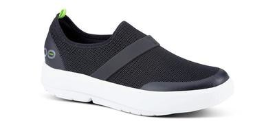 Oofos Women's OOmg Low - Black and White