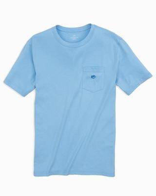 Southern Tide Men's Embroidered Skipjack Pocket Tee
