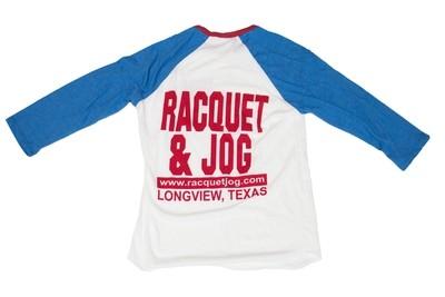 Racquet & Jog Old School Core Raglan Tee