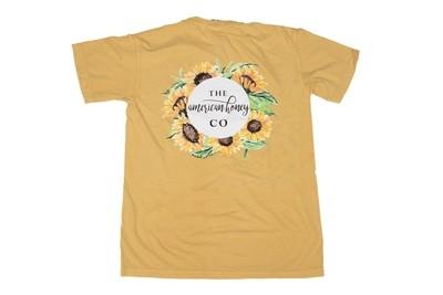 American Honey Sunflower Tee