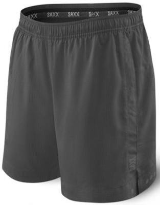 SAXX Men's Kinetic 2N1 Sport Short - Charcoal