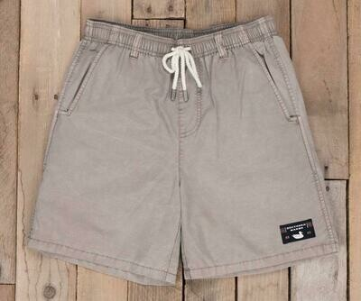 Southern Marsh Kid's Seawash Shoals Swim Trunk- Burnt Taupe Shoals