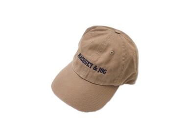Racquet and Jog Statement Hat -  Khaki