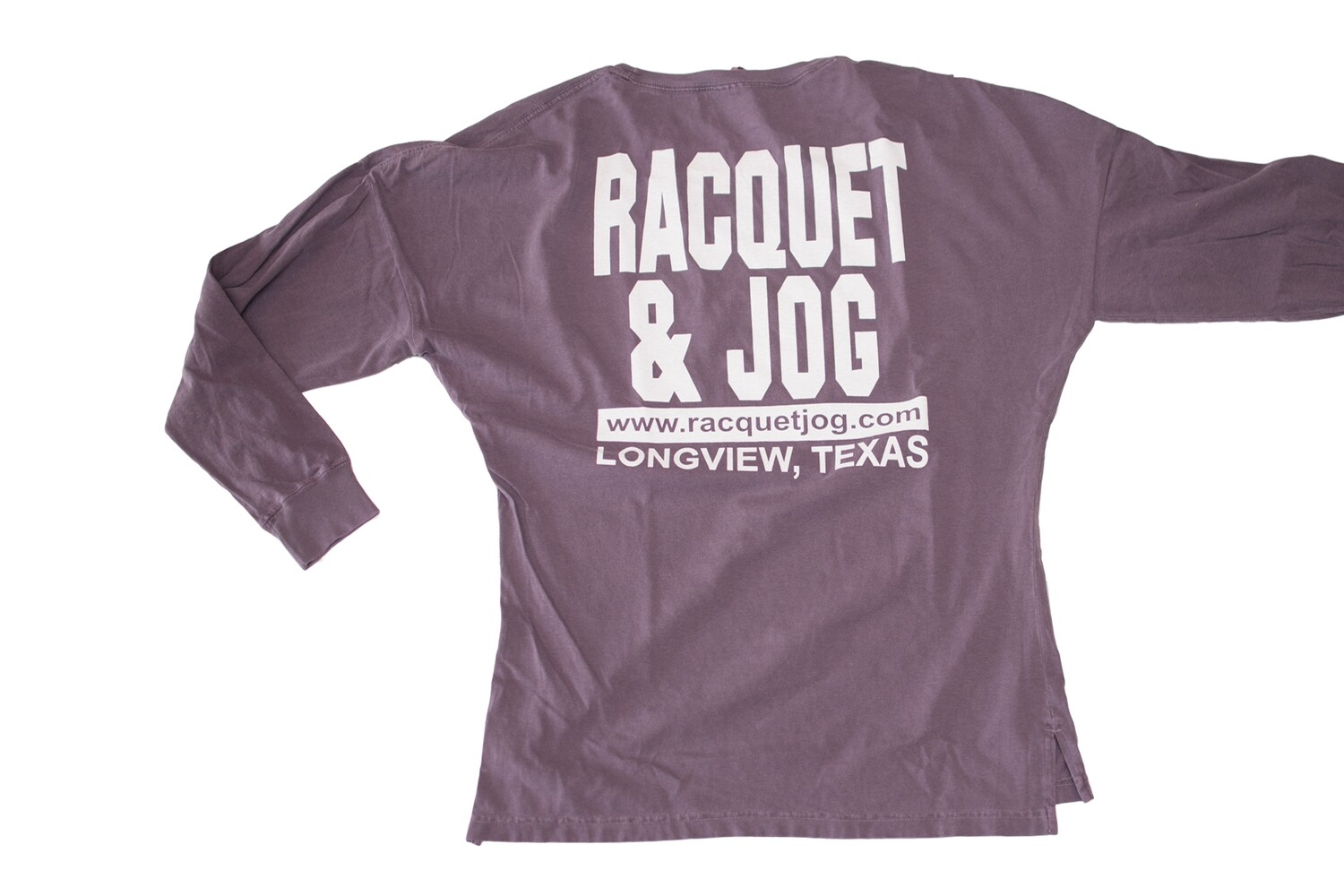 Racquet & Jog Old School Core Oversized Fit Long Sleeve Tee