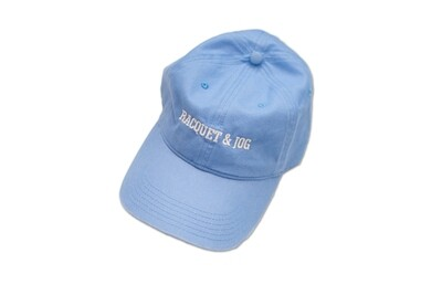 Racquet and Jog Statement Hat - Carolina Blue