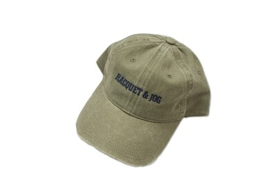 Racquet and Jog Statement Hat -  Olive