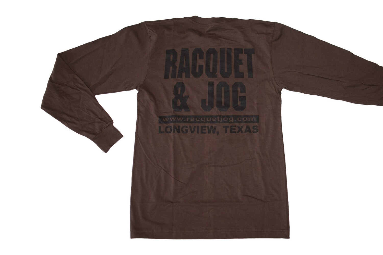 Racquet & Jog Old School Core Jersey Long Sleeve Tee