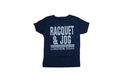 Racquet & Jog Old School Core Track Toddler Tee