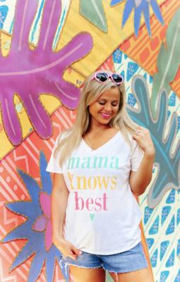 Jadelynn Brooke Things She Loves Mama Knows Best Tee